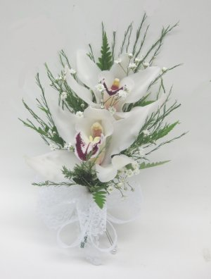 Double Orchid Corsage