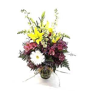 Gathered Garden Bouquet
