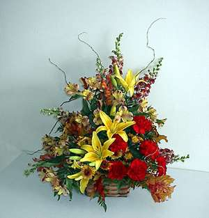 The Colors of Autumn Bouquet
