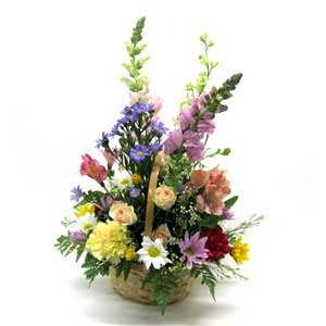 Garden Basket Bouquet