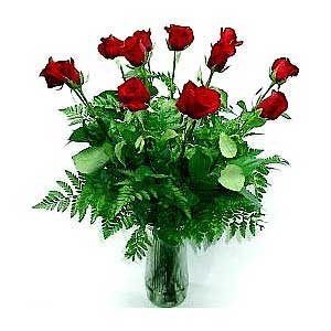 Premium Dozen Red Rose Bouquet