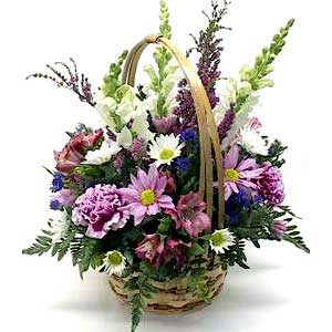 Peaceful Moments Sympathy Basket
